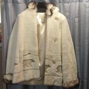 Faux Fur winter coat